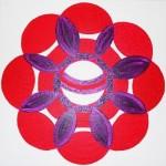 Fleur texturée